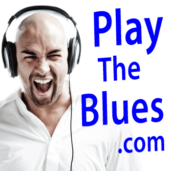 play the blues banner